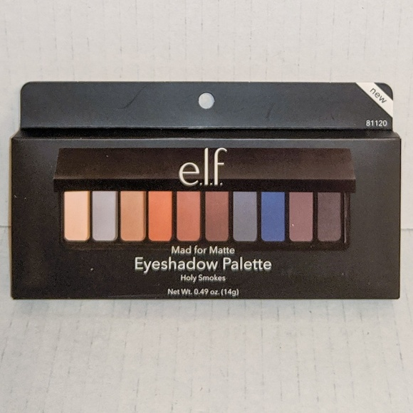 ELF Other - 🆕 e.l.f. Mad for Matte Eyeshadow Palette